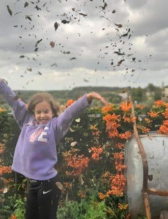 חקלאית ביתית בסתיו – יעל סמיאטץ
